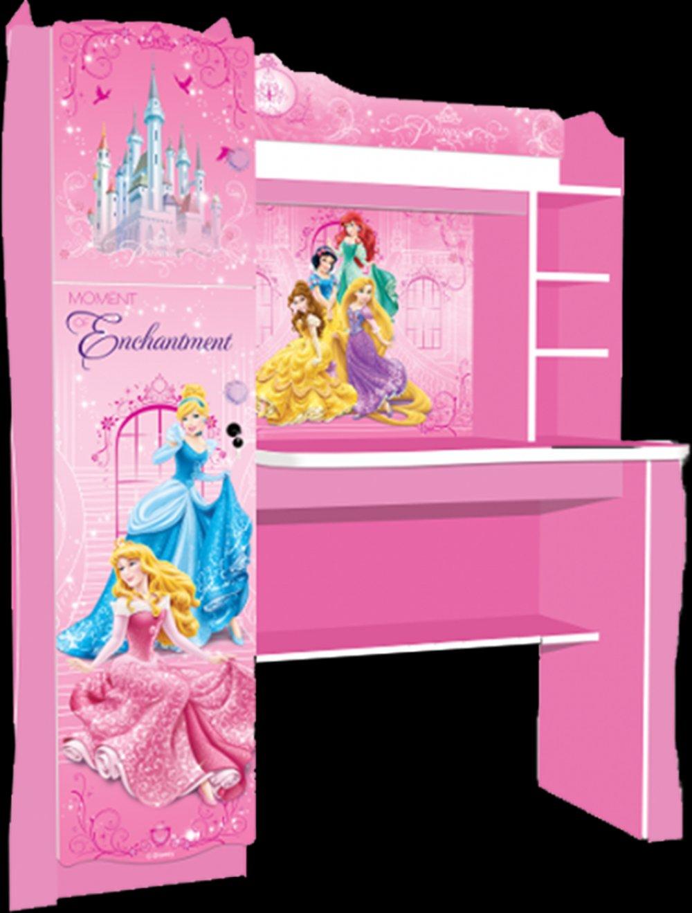 Meja Belajar Gambar Disney Princess