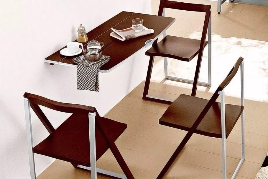 Meja Dinding Cafe Lipat portable