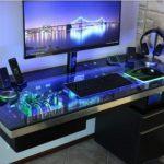 Meja Komputer Gaming Modern Minimalis