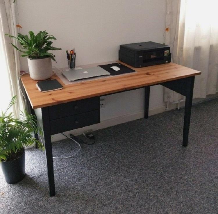 Meja Komputer Ikea Arkelstorp