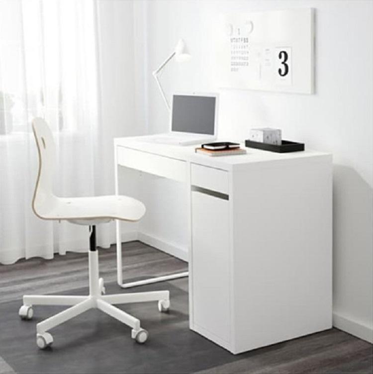 Meja Komputer Ikea Micke in White