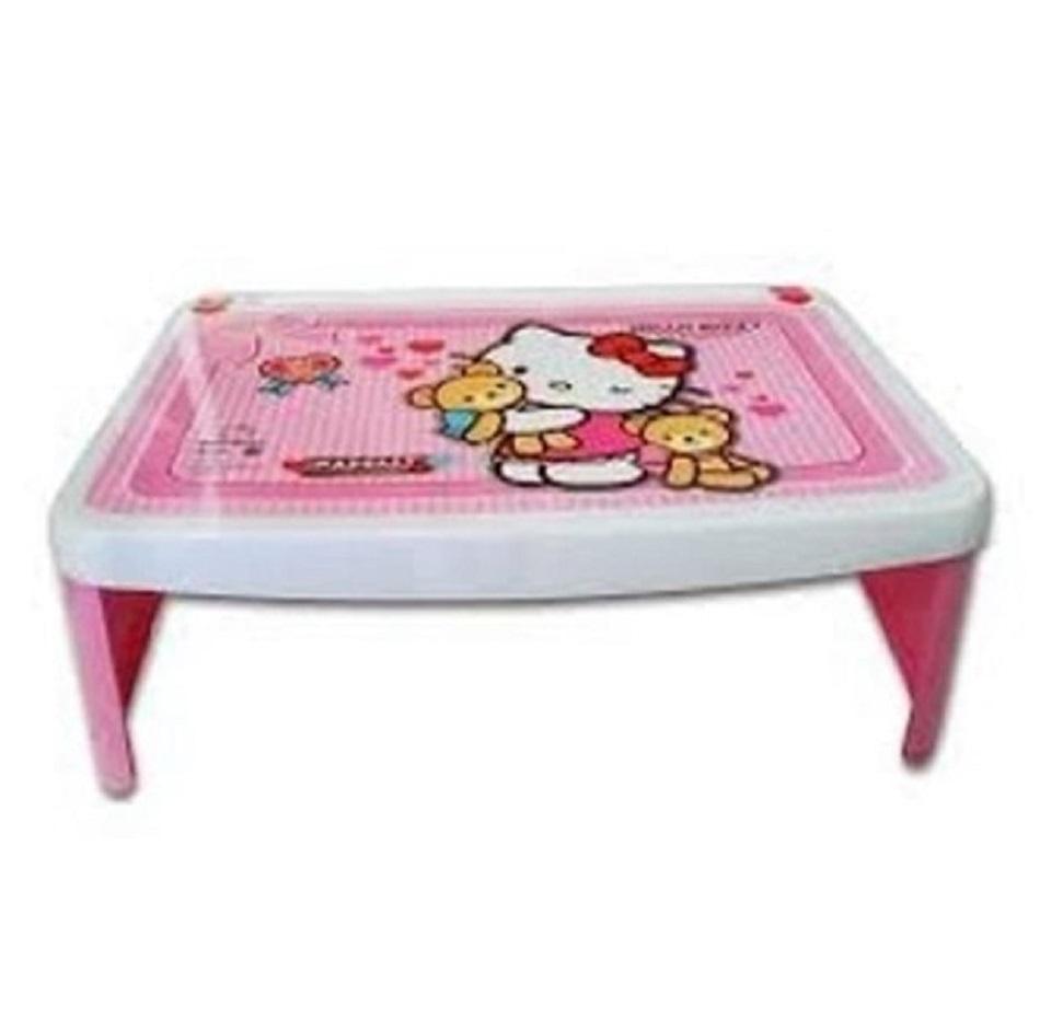 Meja Lipat Plastik Lesehan Karakter Hello Kitty