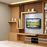 Meja Tv Minimalis Desain Full Rak Terbuka