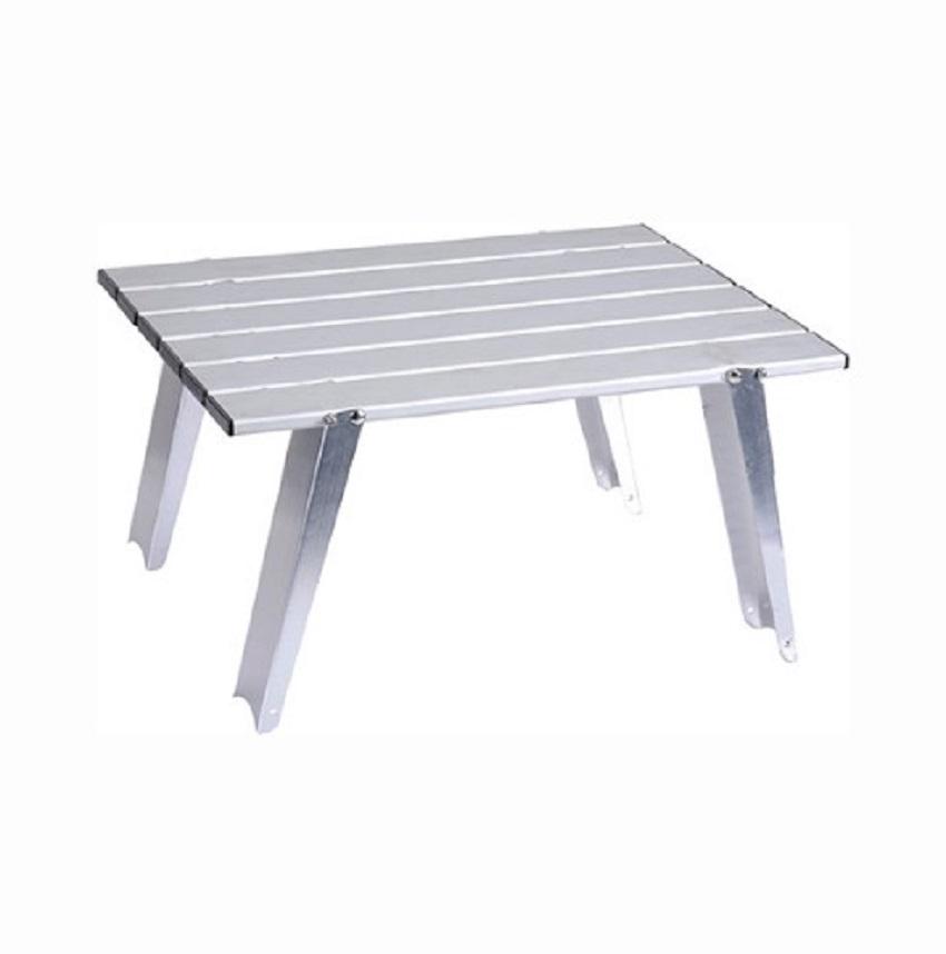 Meja Piknik Aluminium Portable