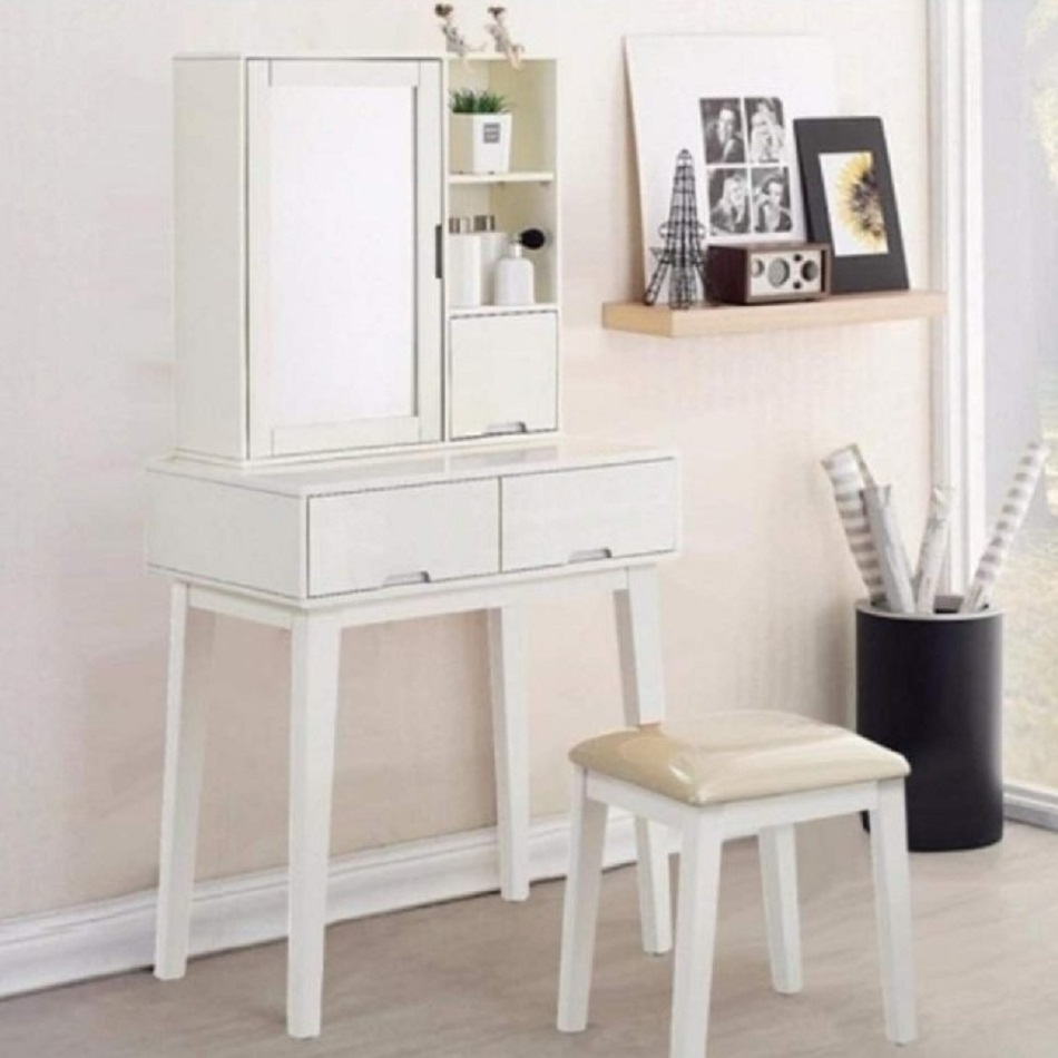 Meja Rias Eco in White