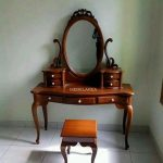 Meja Rias Jati Kartini Furniture Asli Jepara