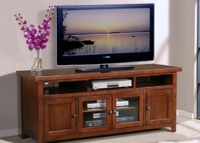 Meja TV Kayu Jati Klasik