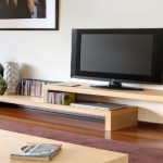 Meja TV Kayu Minimalis Sederhana