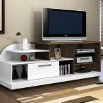 Meja Tv Putih
