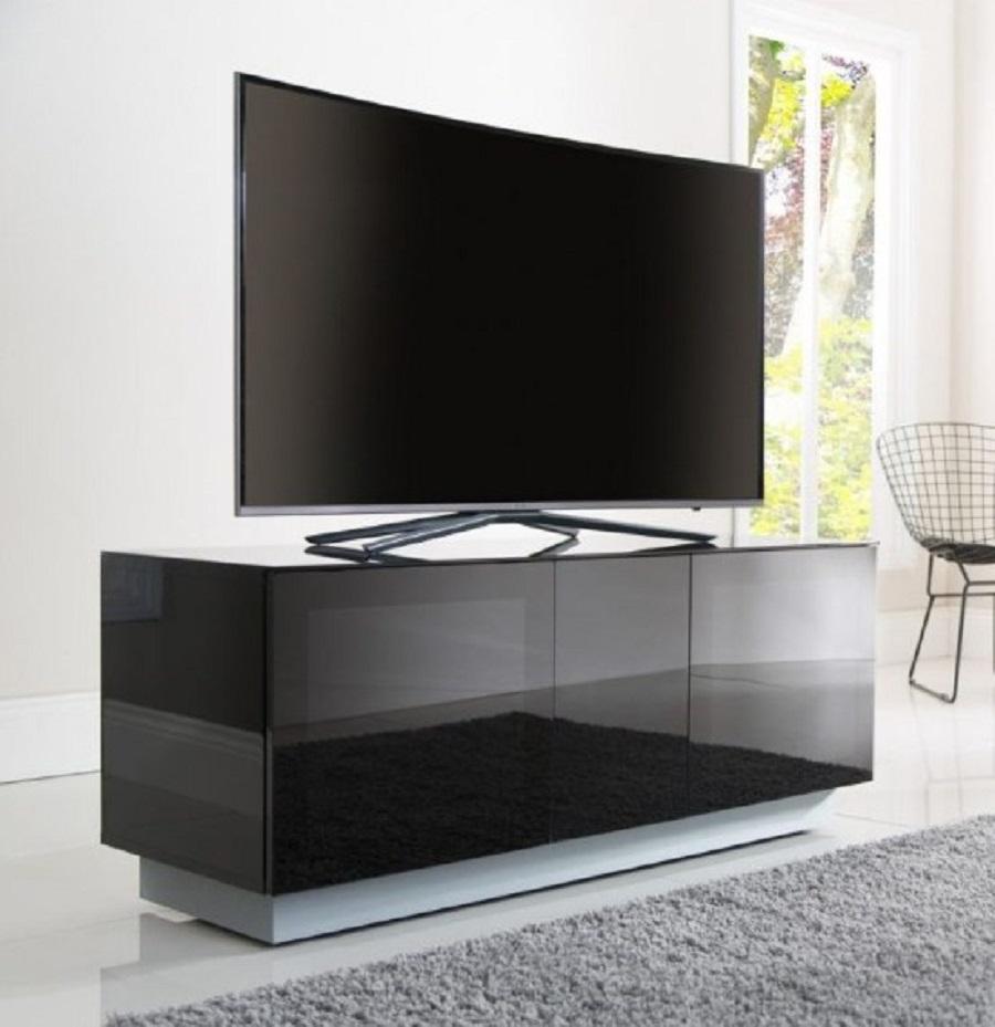 Model Meja Tv Kaca Aluminium