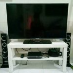 Rak Tv Kecil Desain Sederhana