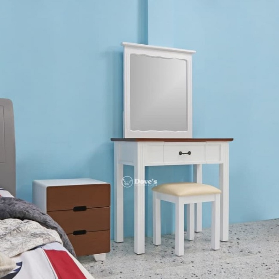 Set Furniture Meja Rias Minimalis Model Dove's