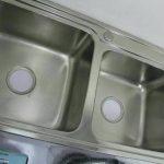 Bak Cuci Piring 2 Lubang stainless