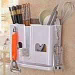 DW016 Rak Gantung dinding Dapur - Putih