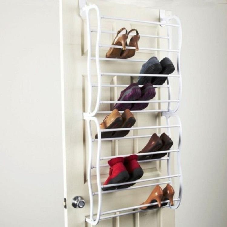 Desain Rak Sepatu Besi