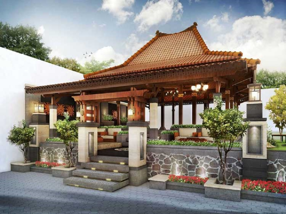 Desain Rumah Joglo Modern 1 Lantai