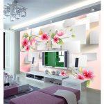 Harga Wallpaper Dinding Motif Bunga