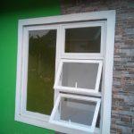 Jendela Aluminium Putih