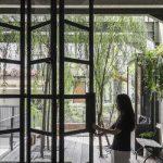 Jendela Permanen Empat Bagian