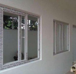 Jendela geser Aluminium murah
