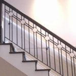 Jual railing tangga besi minimalis