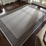 Karpet Permadani Hitam Putih