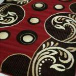Karpet permadani bulu merek moderno ukuran 190x260
