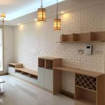 LUXURIOUS 3D Foam Brick Wallpaper Wallpaper Dekorasi Dinding
