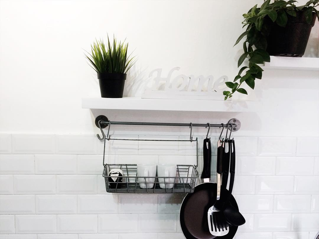 Model Rak Dinding Dapur