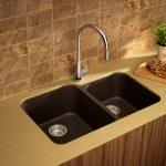Model Wastafel Tempat Cuci Piring Terbaru bahan kayu