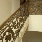 Railing Balkon Ulir Tangga Klasik