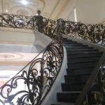 Railing Tangga Alferon Besi Tempa Klasik