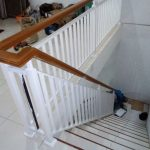 Railing Tangga Handle Kayu