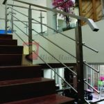 Railing Tangga Stainless (SUS-304) Model Pipa (RRP-301)