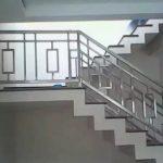 Railing tangga besi stainless dgn berbagai model desain