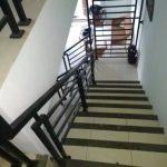 Railing tangga minimalis besi galvanis