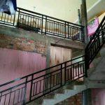 Railing tangga stainless dan balkon minimalis super modis