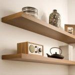 Rak Buku Dinding Minimalis Ambalan Dinding Rak Bumbu Dapur 100x20x3,5