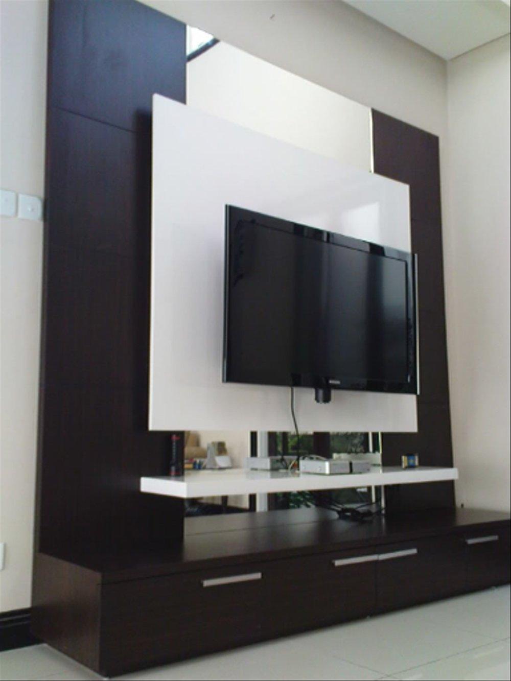 Rak Dinding Tv Modern