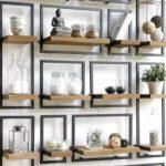 Rak dinding frame besi