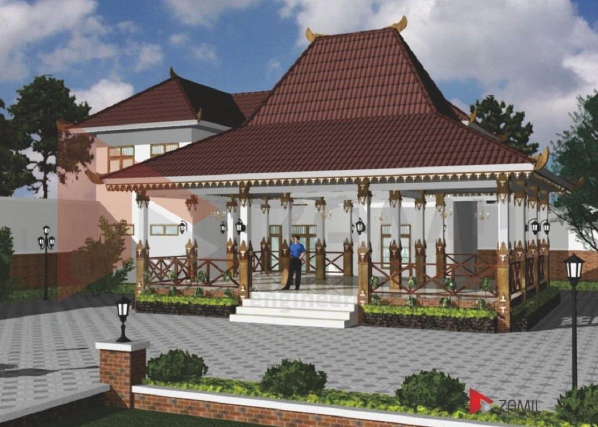Rumah Joglo Tingkat