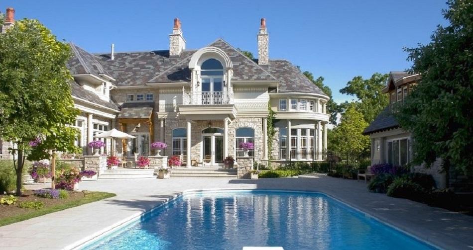 Rumah Mewah Gaya Eropa