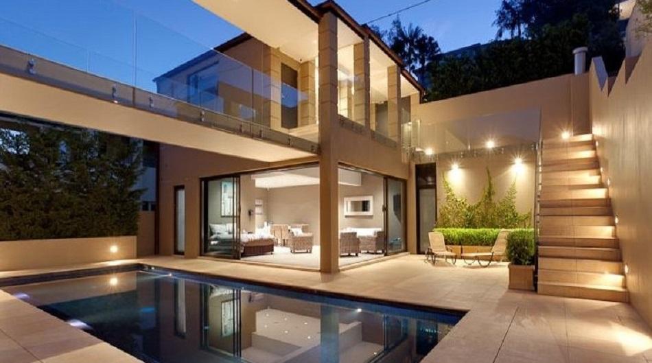 60 Desain Denah Rumah Mewah Impian 1 Dan 2 Lantai