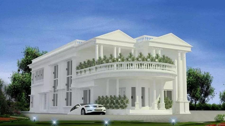 Rumah Mewah Tingkat