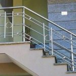 Stainless Steel Railing Tangga