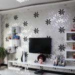 Wallpaper Dinding Hitam Putih