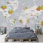 Wallpaper Dinding Kamar Tidur Anak