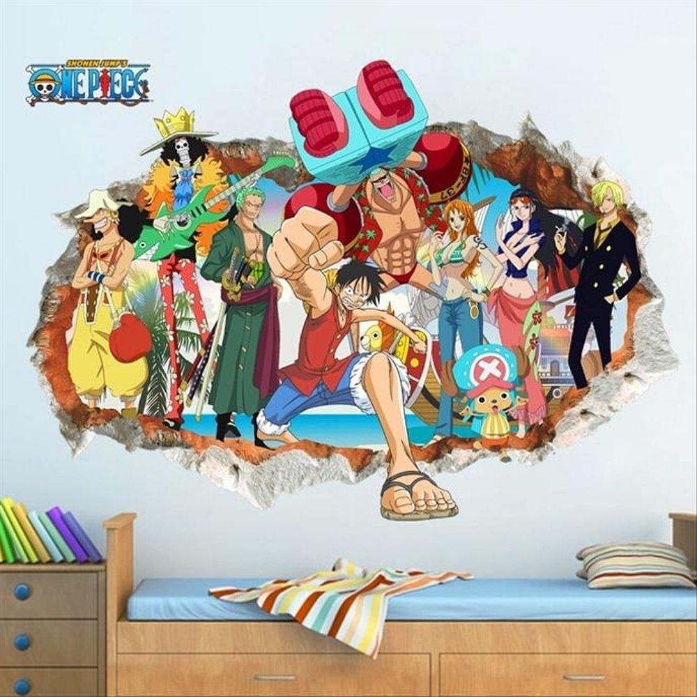 Wallpaper Dinding One Piece