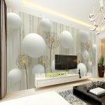 Wallpaper Dinding Ruang Tv