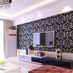 Wallpaper Dinding Rumah Minimalis Ruang Tamu